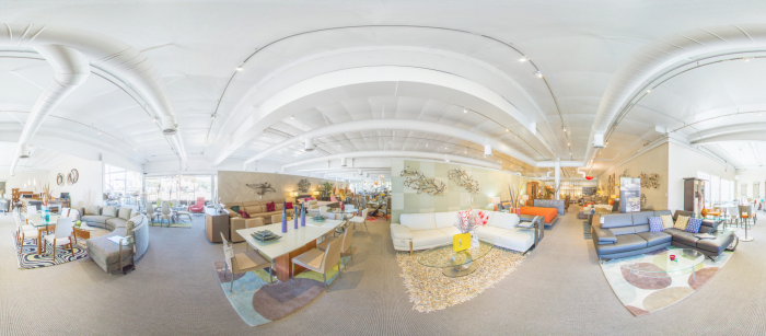Contemporary Lifestyles Modern Furniture Virtual Tour In Torrance Business Walk 360